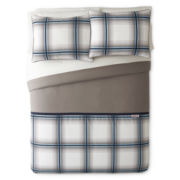 IZOD® Oxford Plaid Comforter Set