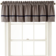 IZOD® Oxford Plaid Valance