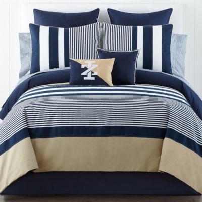 IZOD® Classic Stripe Comforter Set