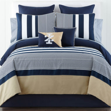 jcpenney.com | IZOD® Classic Stripe Comforter Set and Accessories