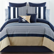 IZOD® Classic Stripe Comforter Set and Accessories