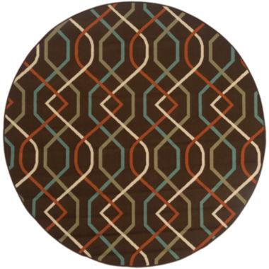 jcpenney.com | Covington Home Montego Swizzle Indoor/Outdoor Round Rug