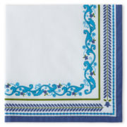 Border Print Set of 4 Napkins