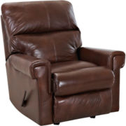 Rivera Faux-Leather Recliner