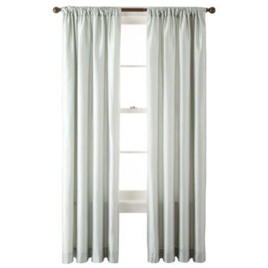 jcpenney.com | Royal Velvet® Encore Rod-Pocket/Back Tab Curtain Panel