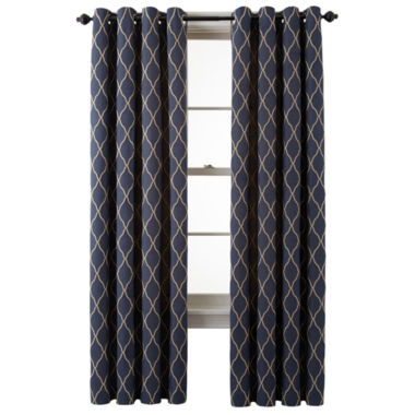 jcpenney.com | MarthaWindow™ Windsor Wave Grommet-Top Curtain Panel
