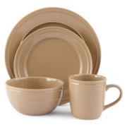 JCPenney Home™ Stoneware 4-pc. Dinnerware Set