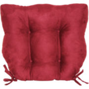 Faux-Suede Chair Cushion