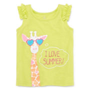Okie Dokie® Graphic Tank Top - Toddler Girls 2t-5t