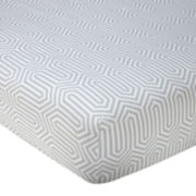 Happy Chic Baby by Jonathan Adler Safari Fitted Crib Sheet
