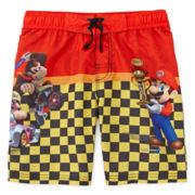 Mario Kart Swim Trunks - Boys 4-7