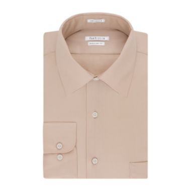jcpenney.com | Van Heusen No-Iron Lux Sateen Long Sleeve Dress Shirt