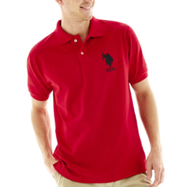 jcpenney.com | U.S. Polo Assn.® Short-Sleeve Big Pony Pique Polo