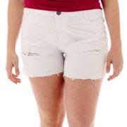 Vanilla Star® Festival Denim Shorts - Plus