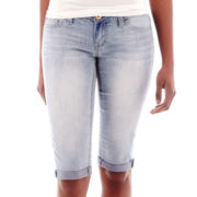 Soundgirl Value Crop Denim Shorts