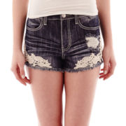 Almost Famous High-Waist Shorts
