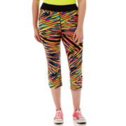 City Streets® Print Crop Yoga Pants - Plus