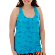 City Streets® Seamless Racerback Tank Top - Plus