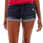 Arizona Hi-Rise Roll-Cuff Shorts