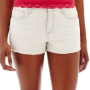 Arizona Hi-Rise Raw-Cuff Shorts