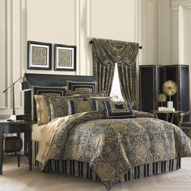 jcpenney.com | Queen Street® Valentino 4-pc. Chenille Comforter Set & Accessories
