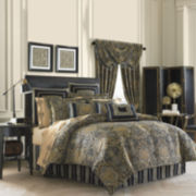 Queen Street® Valentino 4-pc. Chenille Comforter Set & Accessories