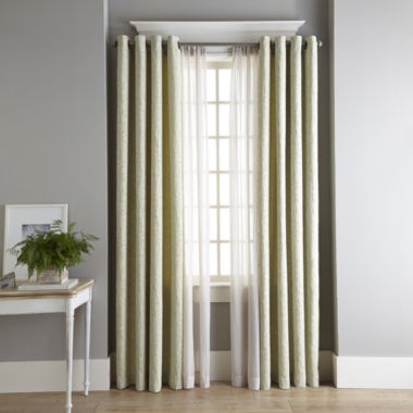 jcpenney.com | MarthaWindow™ Intertwine Grommet-Top Curtain Panel