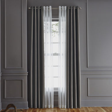 jcpenney.com | Royal Velvet® Plaza/Crushed Voile Window Treatments