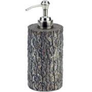 Avanti Mossy Oak Tree Bark Soap Dispenser