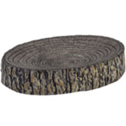 Avanti Mossy Oak Tree Bark Soap Dish