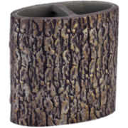 Avanti Mossy Oak Tree Bark Toothbrush Holder