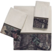 Avanti Mossy Oak Tree Bark Bath Towels