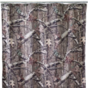 Avanti Mossy Oak Tree Bark Shower Curtain