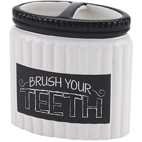 Avanti Chalk It Up Toothbrush Holder