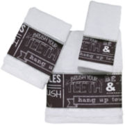 Avanti Chalk It Up Bath Towels