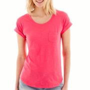 a.n.a® Short-Sleeve Boyfriend T-Shirt - Tall