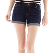 a.n.a® Roll-Cuff Denim Shorts