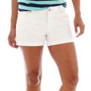 a.n.a® Roll-Cuff Denim Shorts