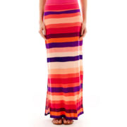 a.n.a® Side-Slit Wide-Waistband Maxi Skirt