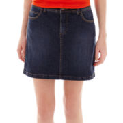St. John's Bay® Denim Skort