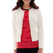 Worthington® Zip-Front Peplum Jacket - Tall