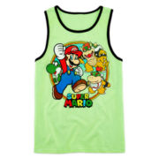 Super Mario Graphic Tank Top – Boys 8-20