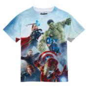 Avengers Short-Sleeve Graphic Tee - Boys 8-20