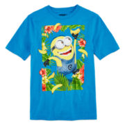 Despicable Me Banana Tropic Graphic Tee – Boys 8-20