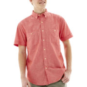 Arizona Short-Sleeve Chambray Workwear Shirt