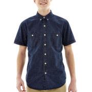 Arizona Short-Sleeve Printed Workwear Shirt