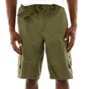 Ecko Unltd.® Belted Cargo Shorts