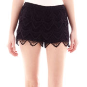 Rewind Tiered Crochet Shorts