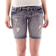 Vanilla Star® Denim Bermuda Shorts