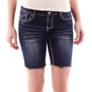Vanilla Star® Bermuda Denim Shorts